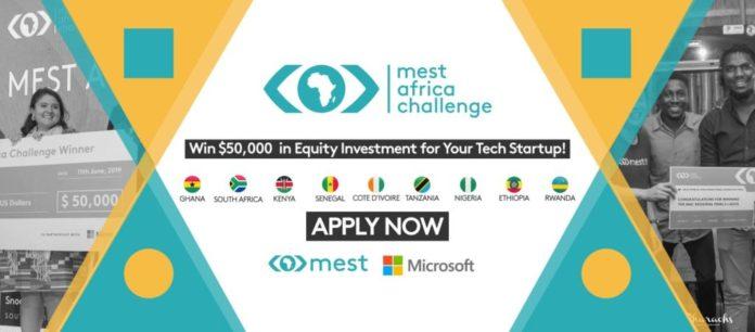 Mest Africa Challenge 2020