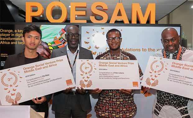 Orange Entrepreneur Social 2020 - POESAM 2019
