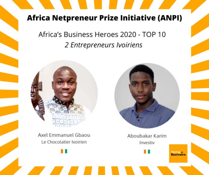 Deux entrepreneurs ivoiriens