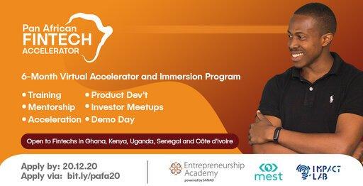 Pan African Fintech Accelerator